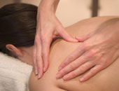 image of back massage